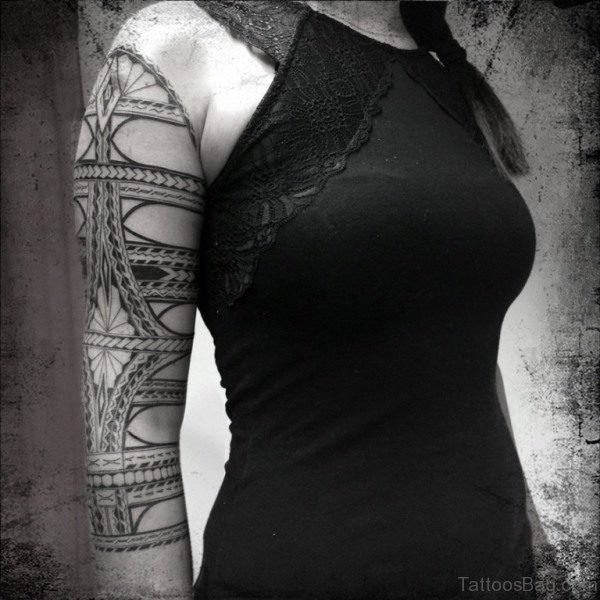 Hot Samoan Desing Tattoo
