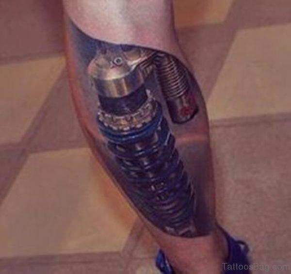 Image Of Biomechanical Tattoo