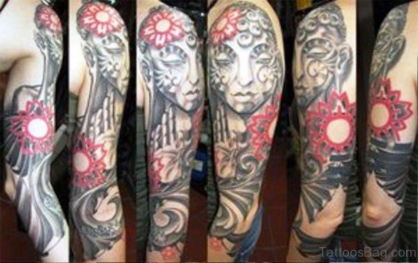 Image Of Buddha Tattoo