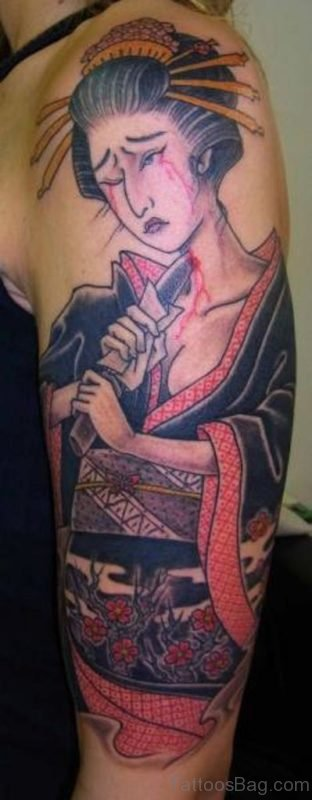 Image Of Geisha Tattoo