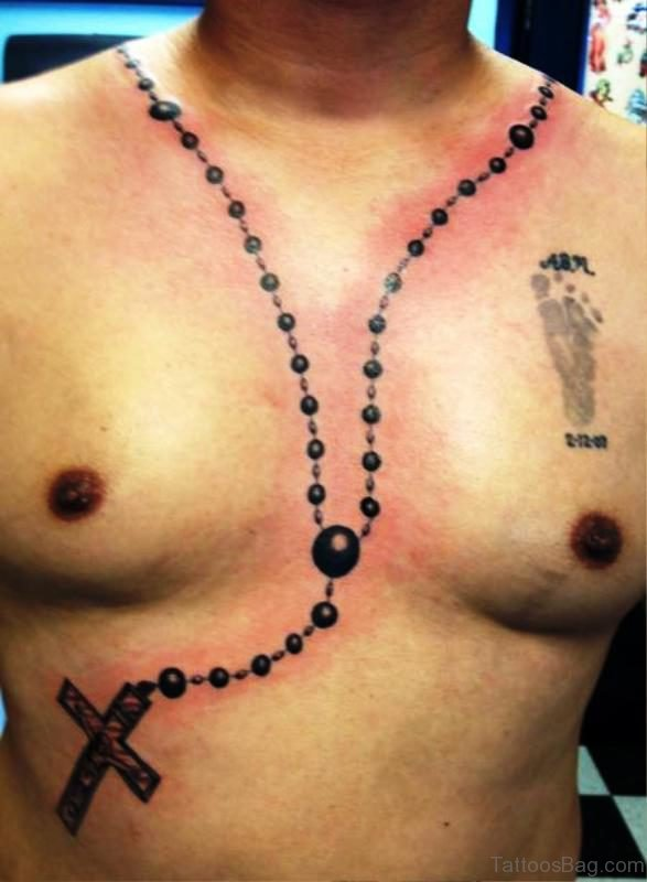 Image Of Rosary Tattoo