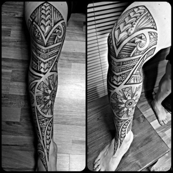 Image Of Tribal Tattoo Design