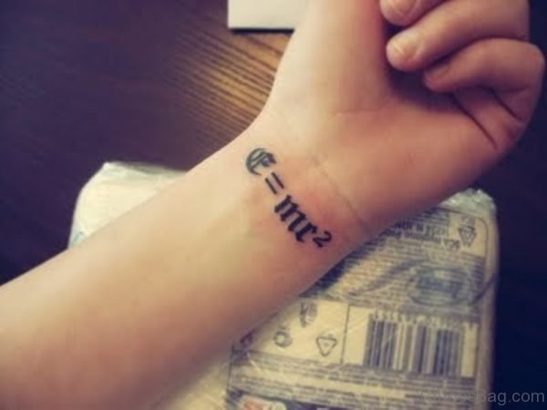 Impressive Ambigram Tattoo