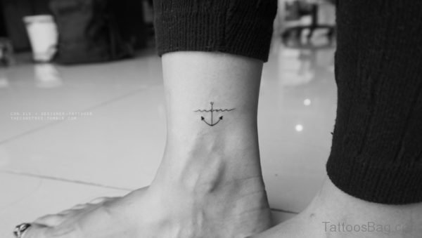 Impressive Anchor Tattoo