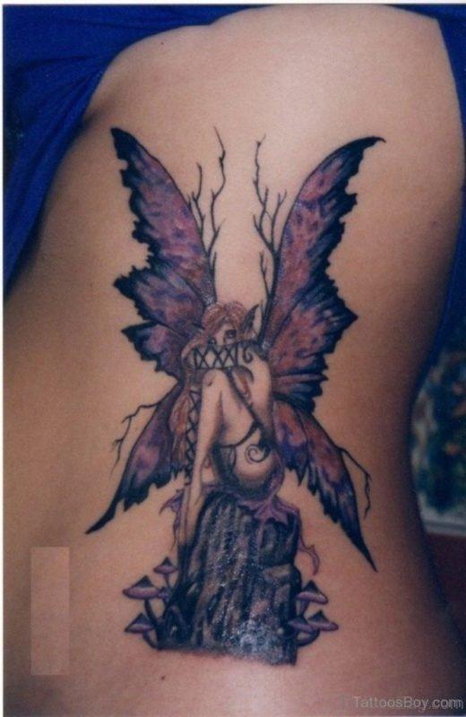 Impressive Angel Tattoo Design
