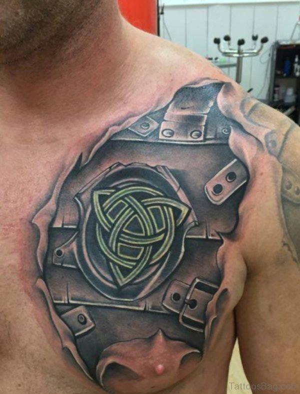 Impressive Armor Tattoo