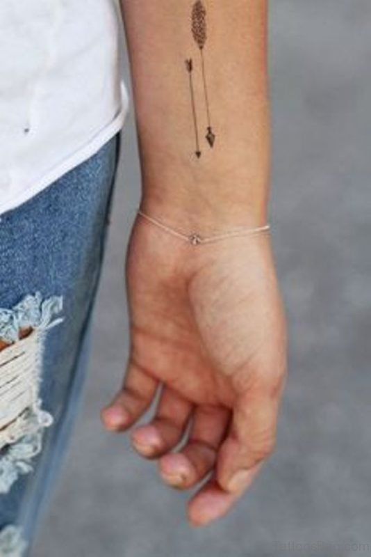 Impressive Arrow Tattoo