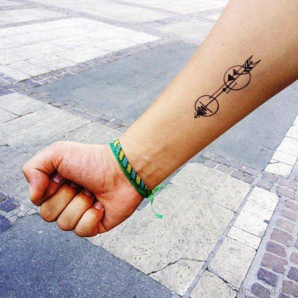 Impressive Arrow Tattoo On Arm