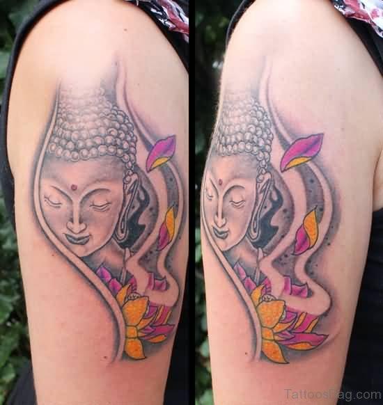 Impressive Buddha Tattoo