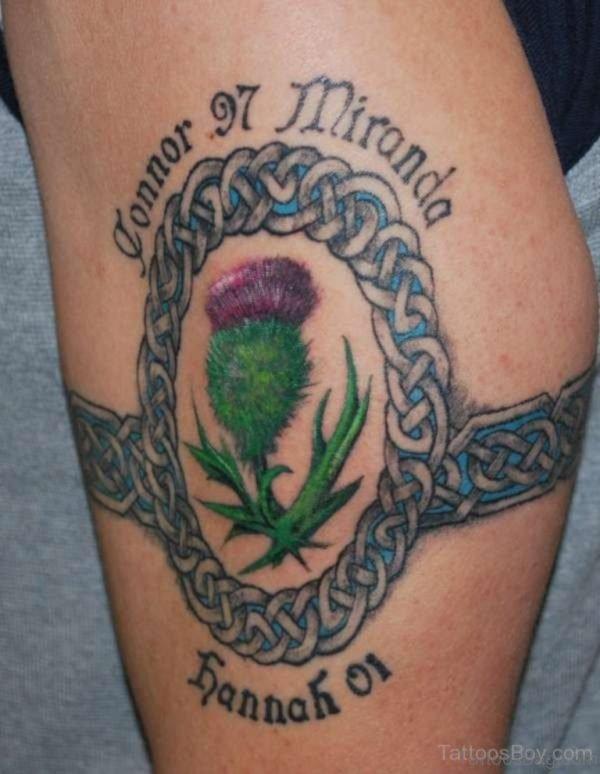 Impressive Celtic Tattoo On Shoulder