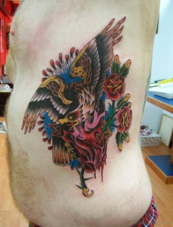 Impressive Eagle Tattoo