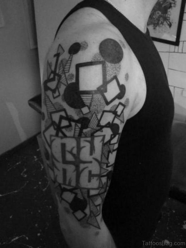 Impressive Geometric Tattoo
