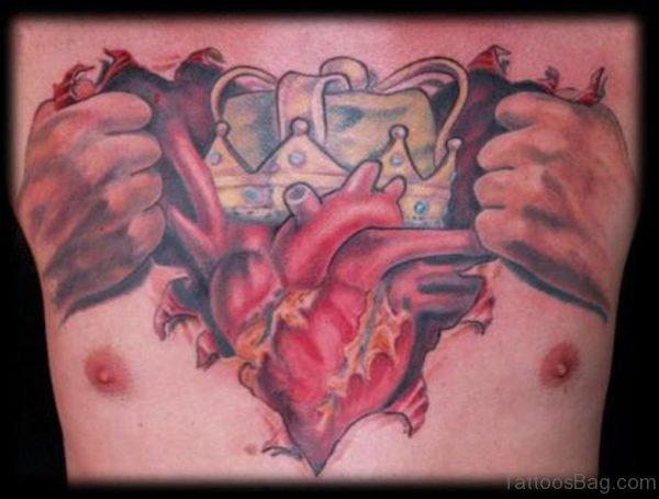 Impressive Heart Tattoo