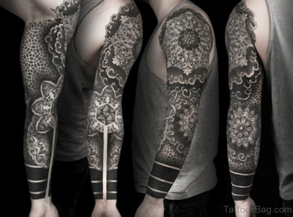 Impressive Mandala Tattoo