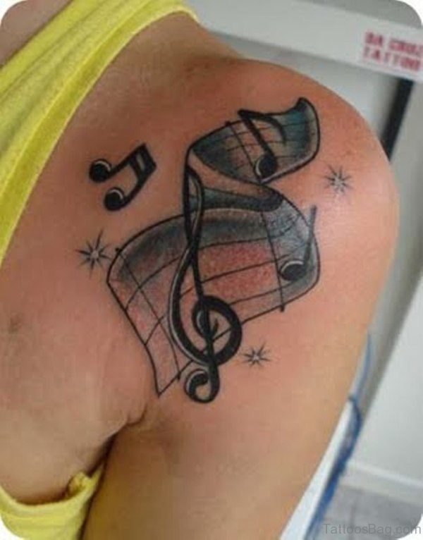 Impressive Music Tattoo