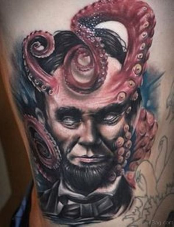 Impressive Portrait Tattoo