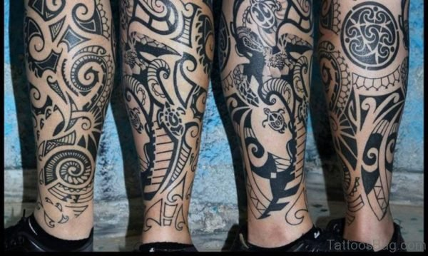 Impressive Tribal Tattoo