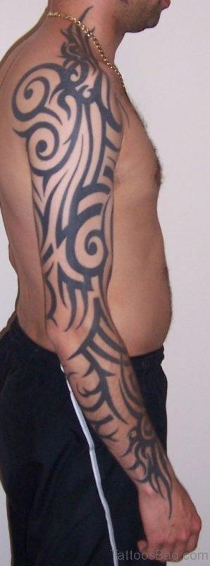 Impressive Tribal Tattoo