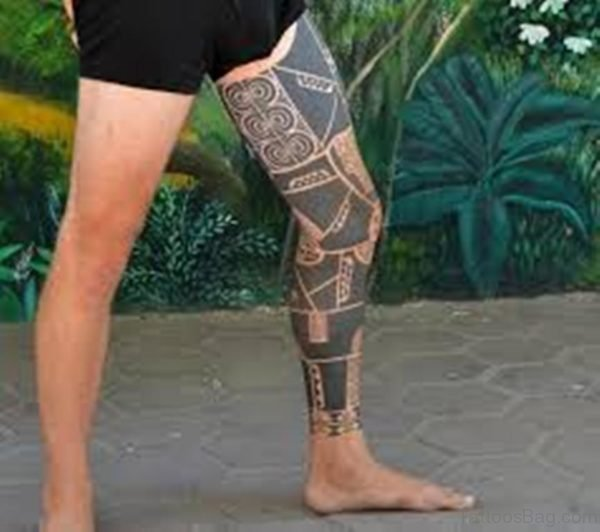 Impressive Tribal Tattoo Design