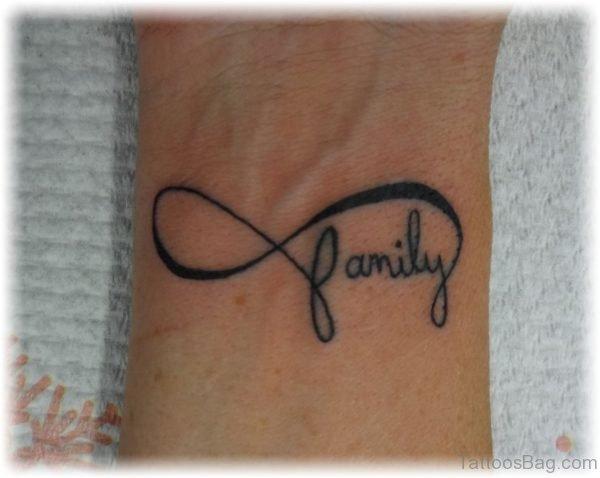 Infinity Family Tattoo