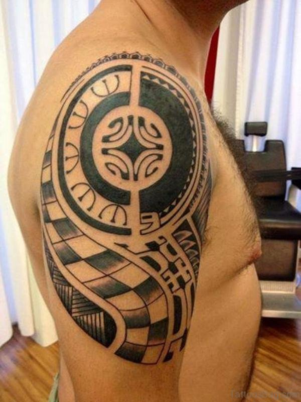 Innovative Geometric Designer Tattoo