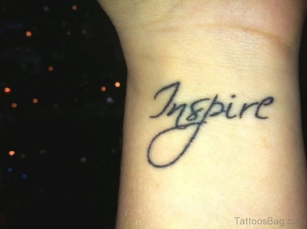 Inspire Word Tattoo
