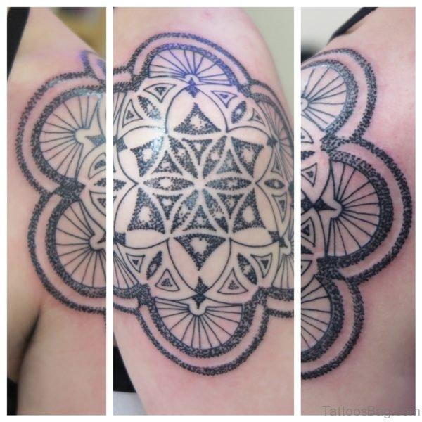 Irish Geometric Tattoo