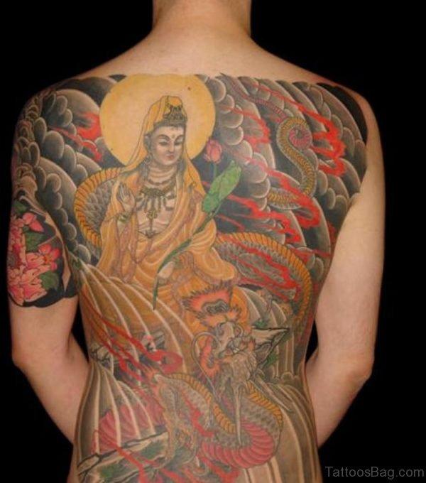 Japanese Buddha Tattoo