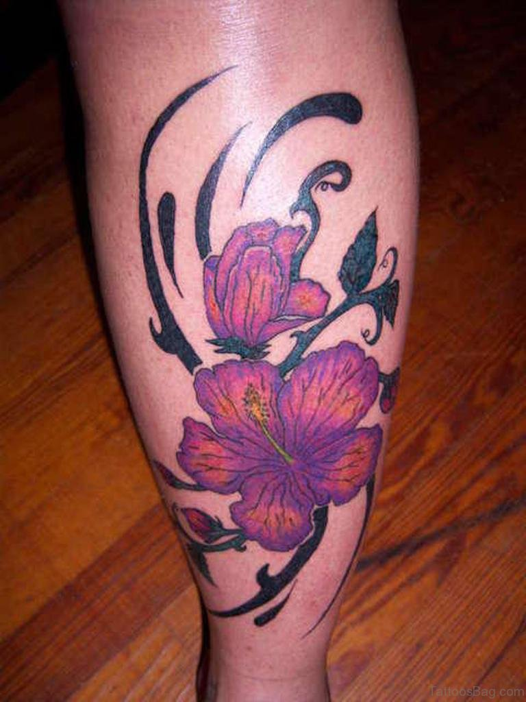 50 best flower tattoos on leg japanese flower tattoo on leg izmirmasajfo