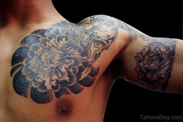 Japanese Half Sleeves Shoulder Tattoo