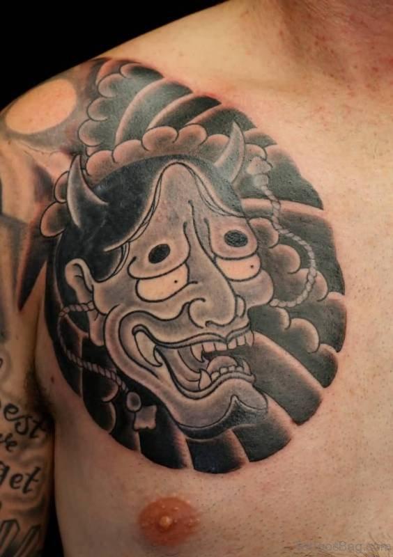 90 Nice Japanese Shoulder Tattoos
