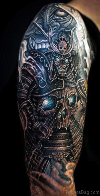 Japanese Samurai Warrior Tattoo