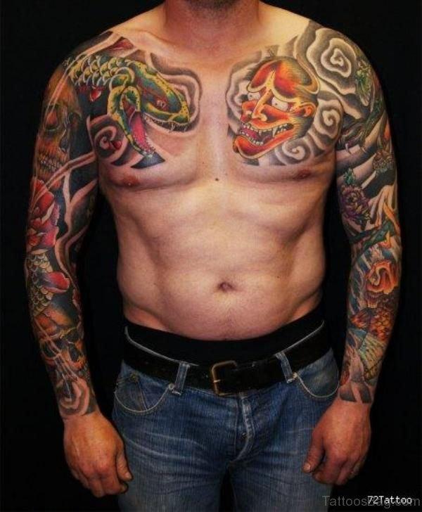 Japanese Stylish Tattoo