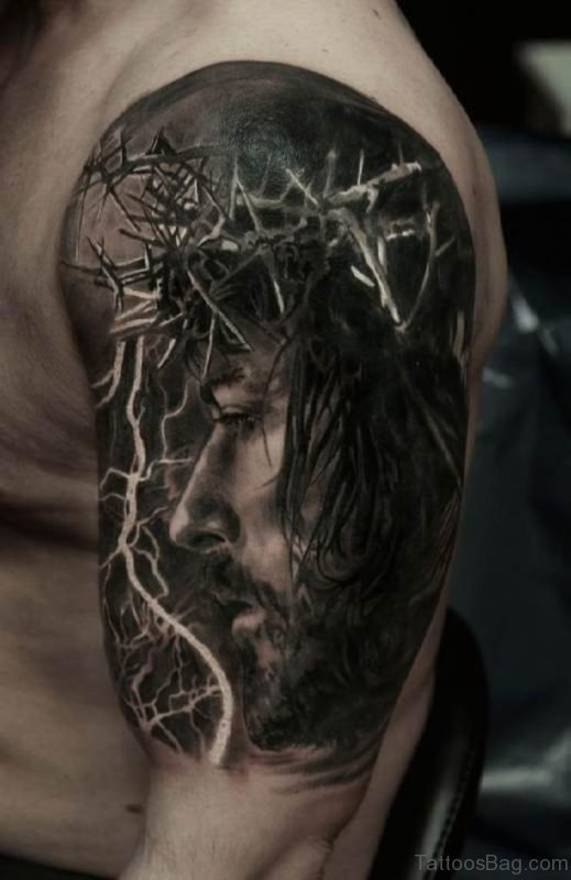 Jesus 3D Tattoo
