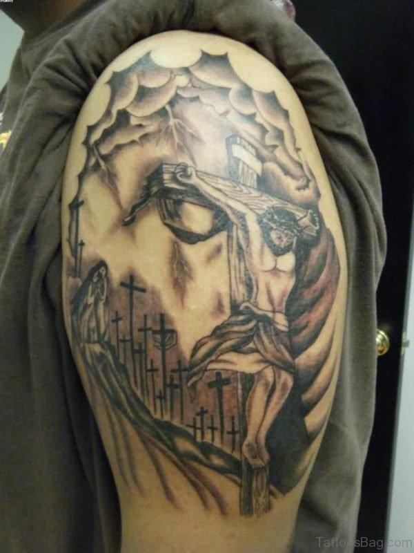 Jesus Cross Tatto