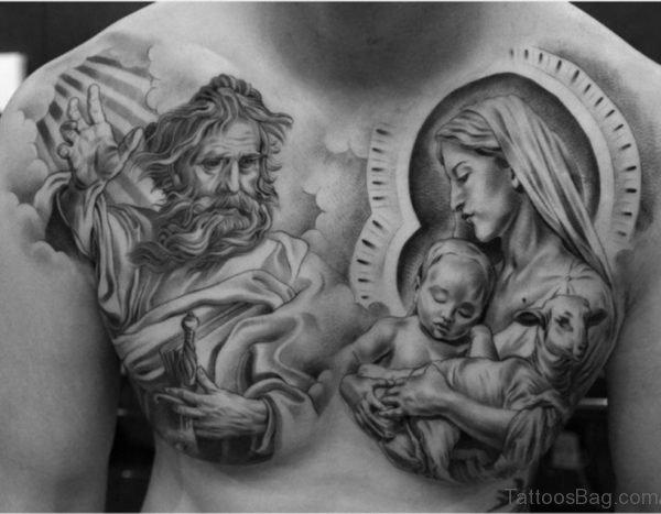 Jesus Tattoo Design