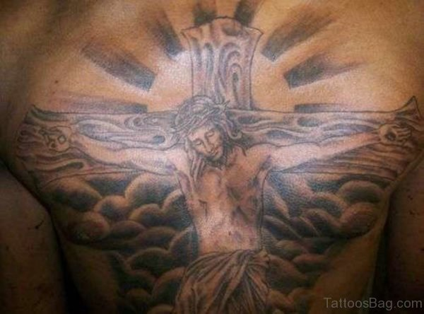 Jesus Tattoo Design On Chest