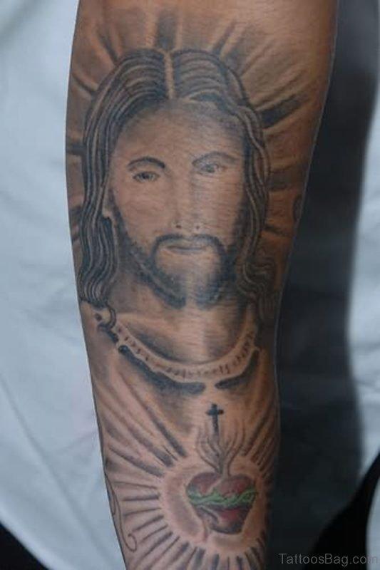 Jesus Tattoo Image