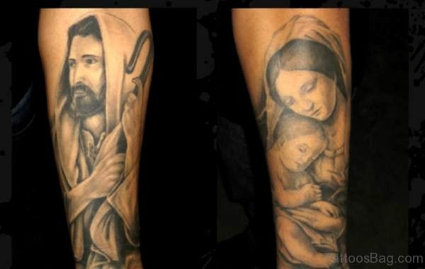 Jesus Tattoo Picture