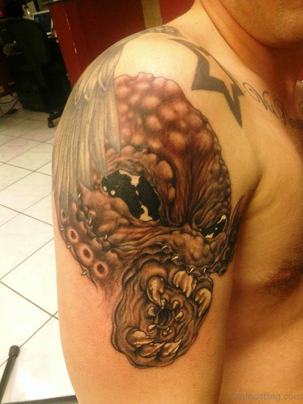 42 incredible kraken tattoos on shoulder