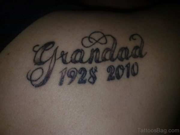Large Grandad Tattoo