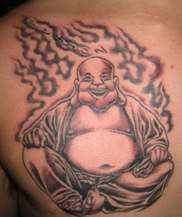 Laughing Buddha Tattoo