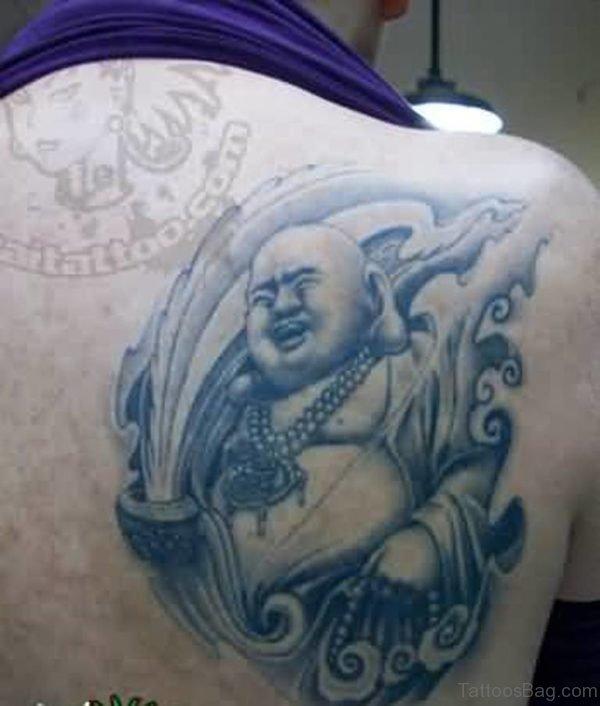 Laughing Buddha Tattoo Design