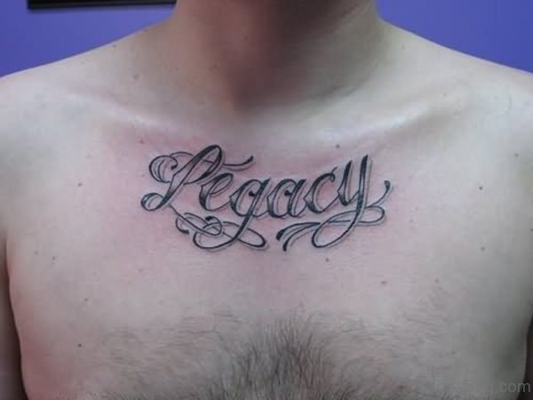 Legacy Word Tattoo