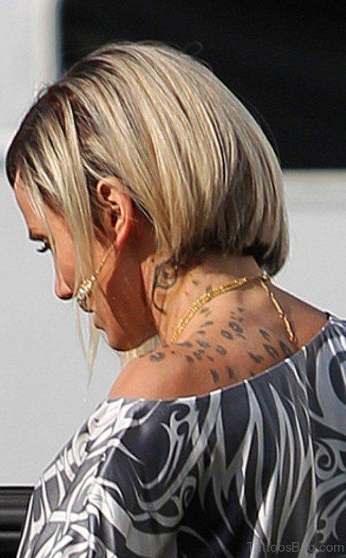 Leopard Spots Tattoo