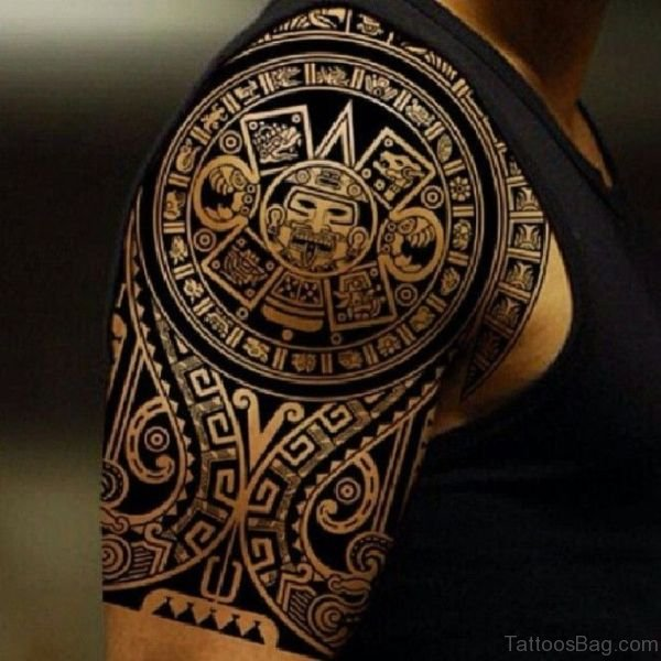 68 Perfect Samoan Shoulder Tattoos