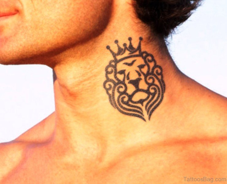 57 adorable crown tattoos on neck for Lion king tattoo