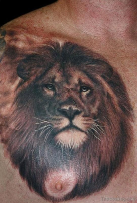 Good looking Lion Tattoo