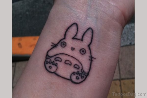 Little Bunny Tattoo On Wrist