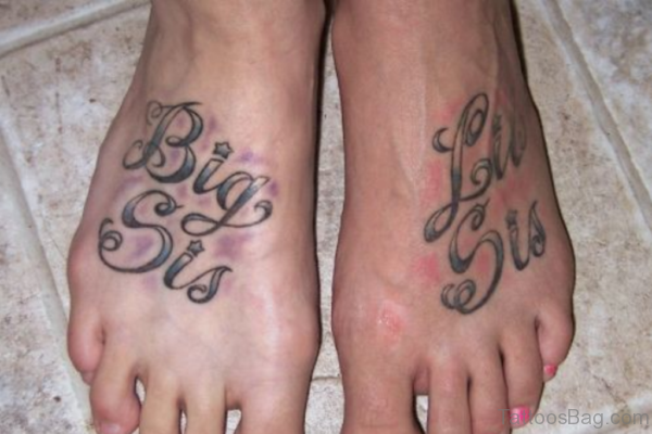 Little Sister Big Sister Tattoo